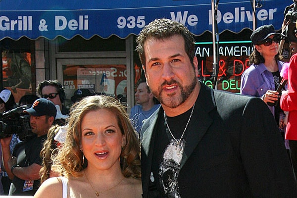Joey Fatone and his ex-wife