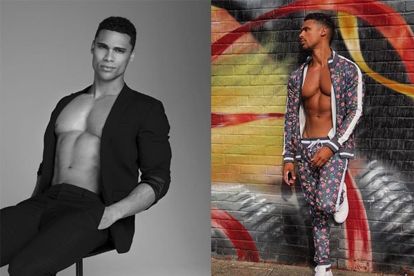 Rykard Jenkins and his modeling career