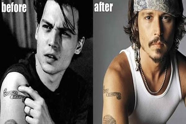 Johnny Depp doesn