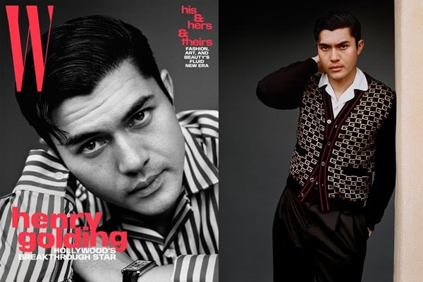 Henry Golding as a model