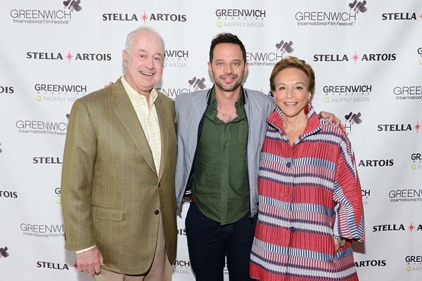 Nick Kroll and his family