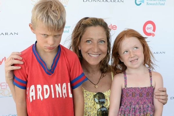 Edith Falco has adopted two kids
