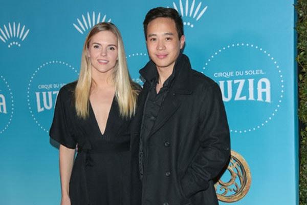 Hayden Szeto with girlfriend, Kari Perdue