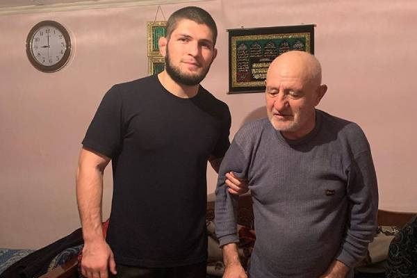 Khabib Nurmagomedov hospitalized